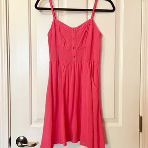 EXPRESS Pink mini dress